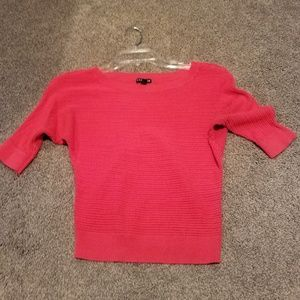 Express Sweaters - Coral knit sweater